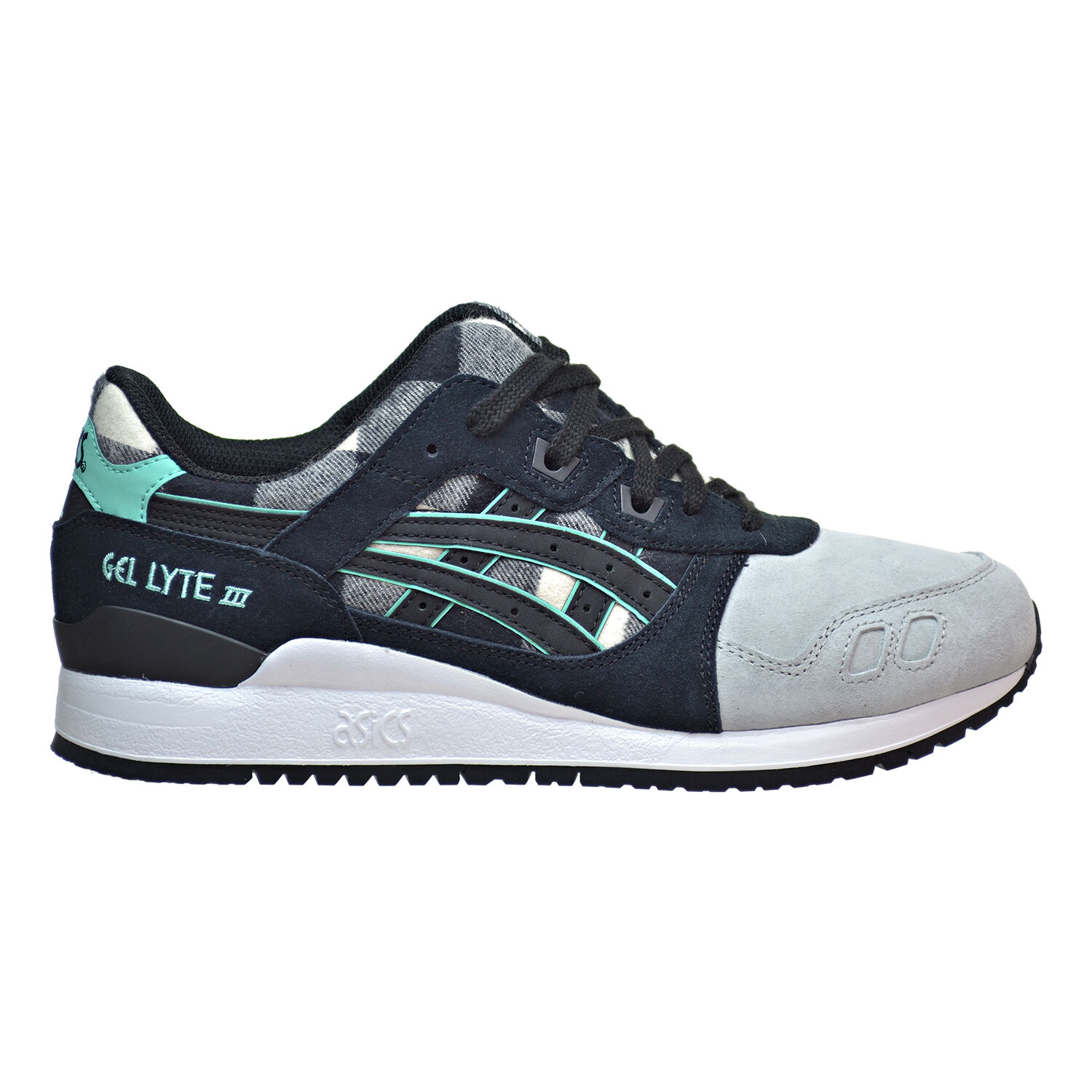 Asics Gel Lyte III Mens Shoes White/Black h6y0l-0190