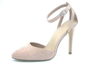 6f2550cfa8d NEW LOOK SIZE 8 41 NUDE DUSTY PINK ANKLE STRAP STRAPPY SHOES SANDALS ...