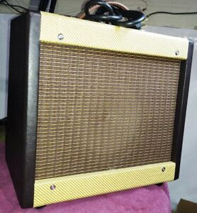 Fender 5F1 Champ Amplifier clone.  Vintage RCA and Groove tubes. 1yr Warranty