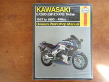 kawasaki ex500 gpz500 full service repair manual 1987 1993