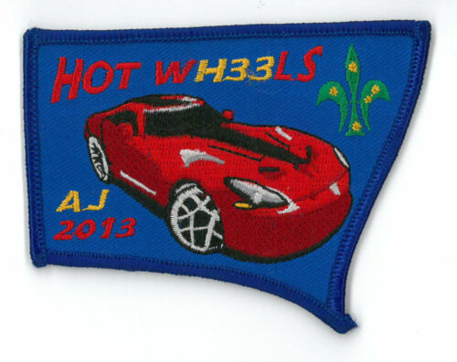 AJ2013 AUSTRALIA SCOUT NATIONAL JAMBOREE NSW TROOP H33 SCOUTS CONT PATCH