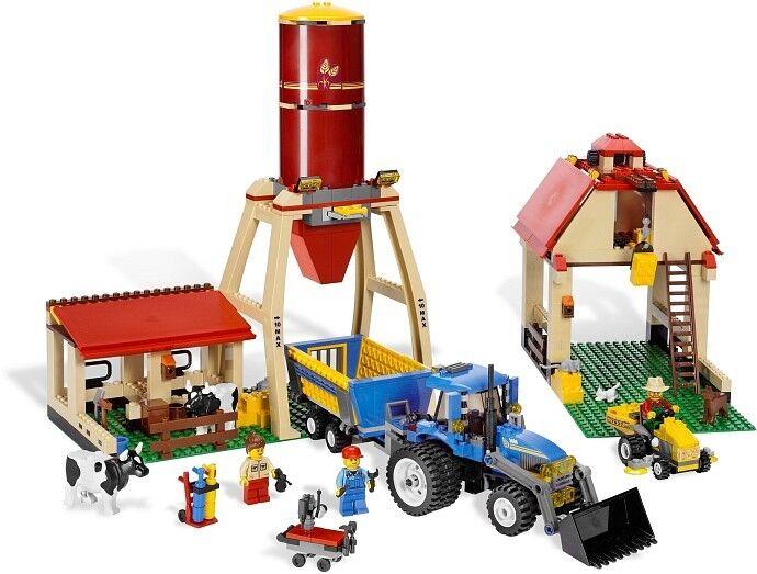 Nouveau LEGO Town city 7637 Ferme Neuf Scellé Farm