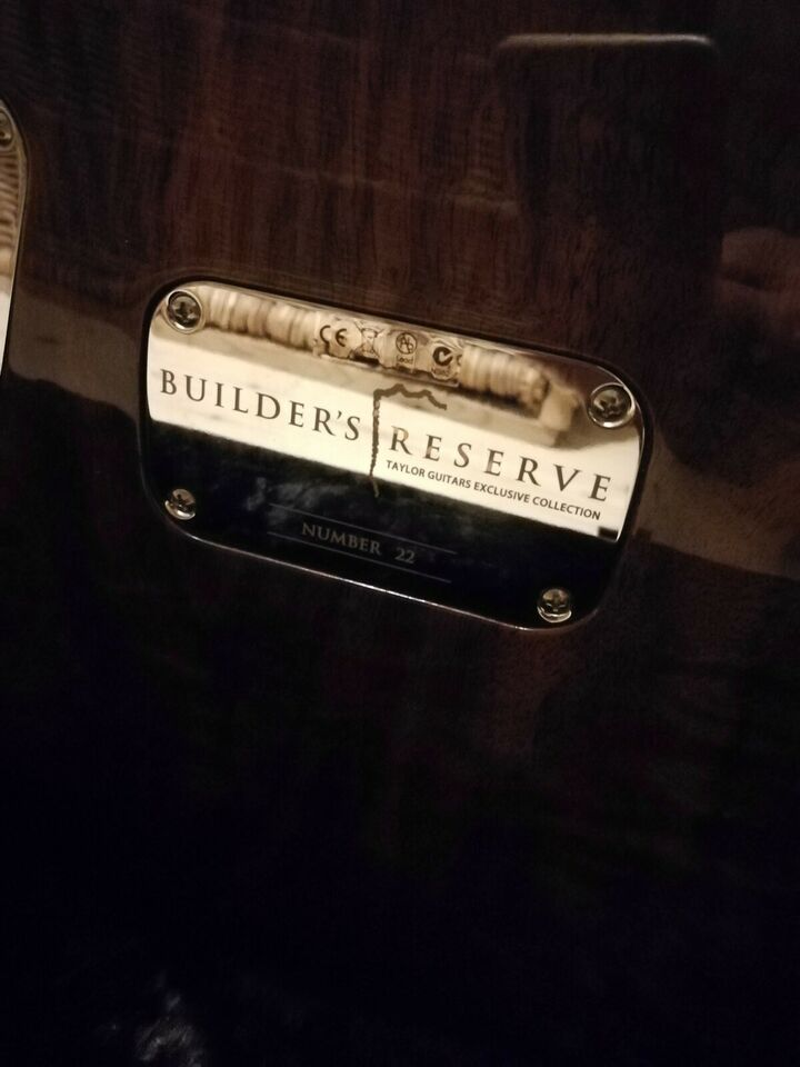 Elguitar, Taylor Builders Reserve, nummer 22