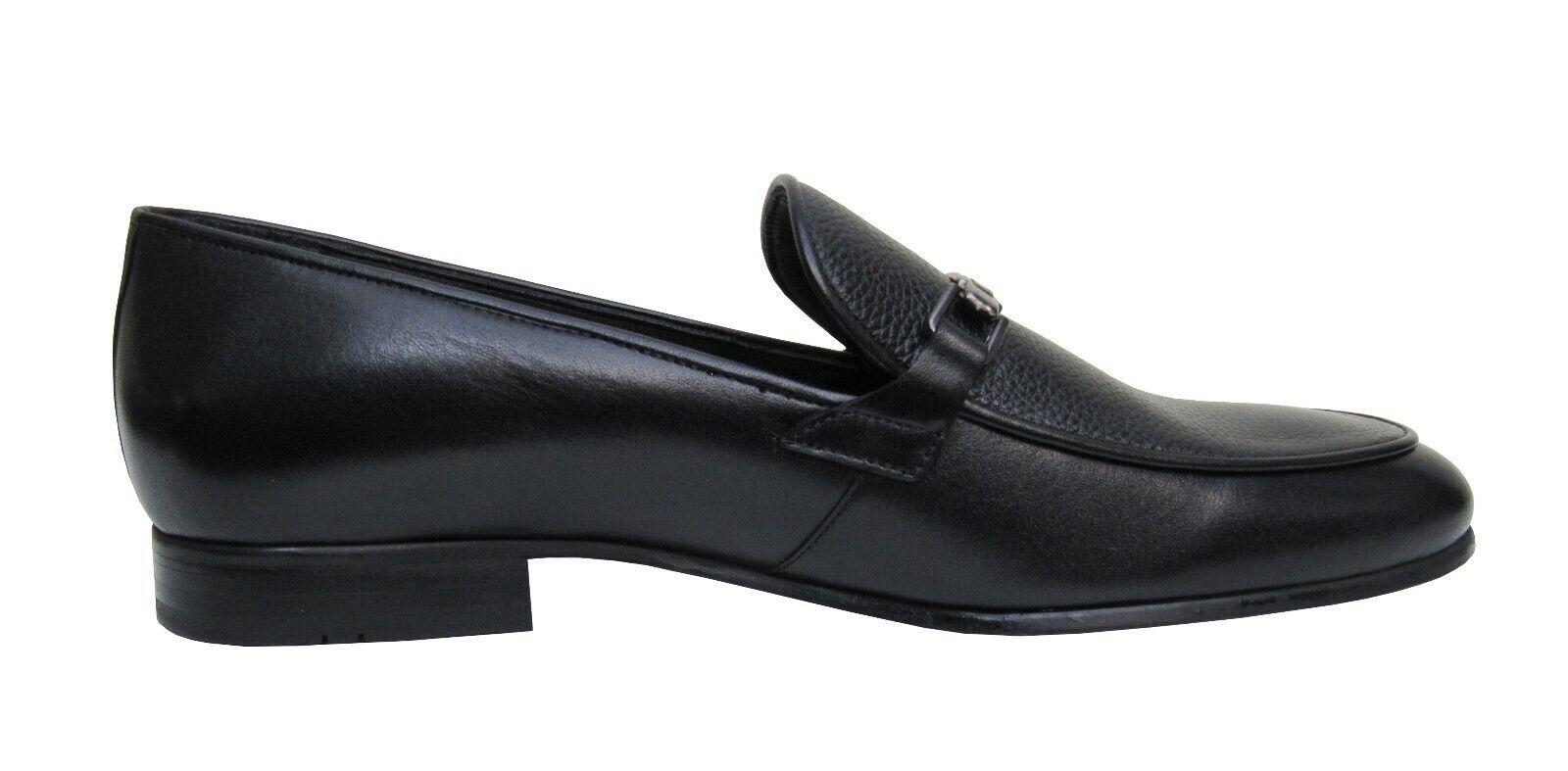 Scarpe da da da uomo con Fermaglio elegante e klasssich tg. 41 Nero 6bf1d9