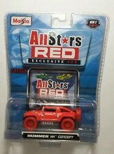 2008 maisto Allstars red exclusive 100 Hummer HX concept chase vehicle rare