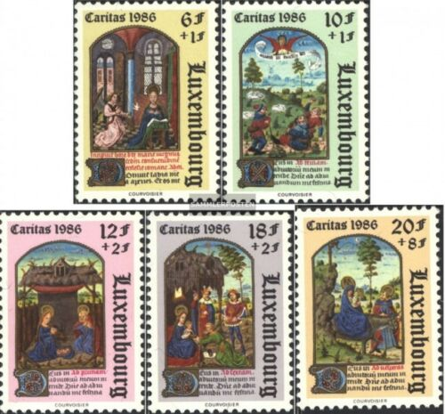 Luxemburg 11631167 kompl.Ausg. unmounted mint never hinged 1986 Caritas