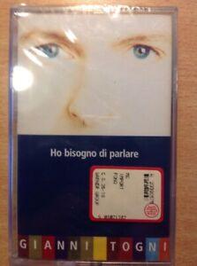 GIANNI-TOGNI-HO-BISOGNO-DI-PARLARE-MUSICASSETTA-NUOVO-D-039-EPOCA-RIMANENZA