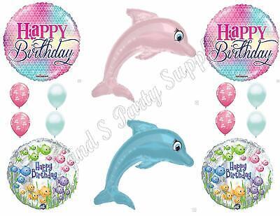 SURFBOARD Luau Ocean Happy Birthday Balloons Decoration Supplies Tiki Beach