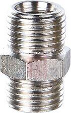 """Airbrush Hose Adaptor 1/4""""BSP M - 1/4""""BSP M"""