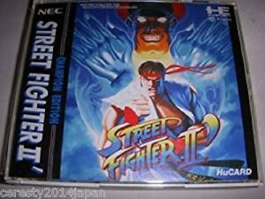 STREET FIGHTER II 2 DASH PC-Engine Hu PCE NEC JAPAN Game