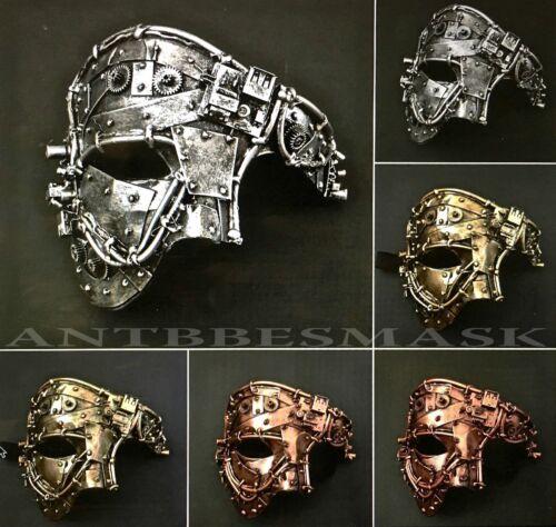 Steampunk Anachronistic Design Men Women Costume Party Mask