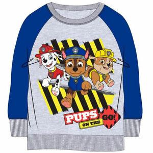 Paw-Patrol-Kids-Sweatshirt-Sweater-Grey-PAW8471SWEGRY