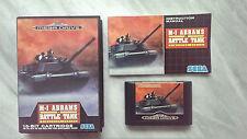 M-1 Abrams Battle Tank für Sega Mega Drive inkl. OVP und Anleitung