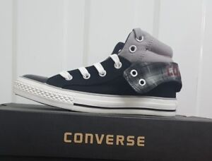 1f0a385a2d152a Image is loading CONVERSE-PADDED-MID-COLLAR-2-KIDS-328758C-BNIB