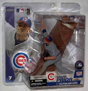 2003 McFarlane MLB Series 7 Mark Prior #22 Chicago Cubs Action Figure