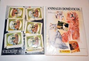 ULTIMOS-ALBUM-DE-CROMOS-ANIMALES-DOMESTICOS-50-SOBRES-PANINI-STICKER-PACKS