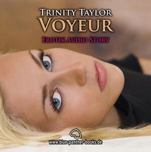 Voyeur-Erotisches-Hoerbuch-1-CD-von-Trinity-Taylor-blue-panther-books