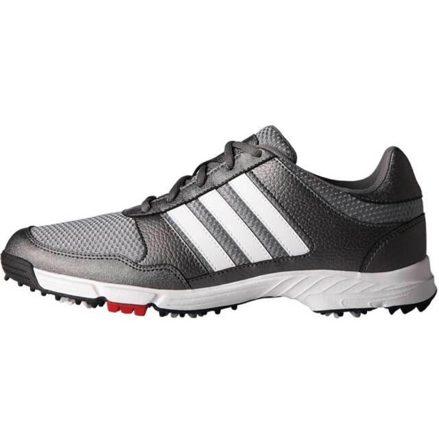 Adidas Mens Tech Response Golf Shoes Q44682 10 Wide Metallic White Core Blk For Sale Online Ebay