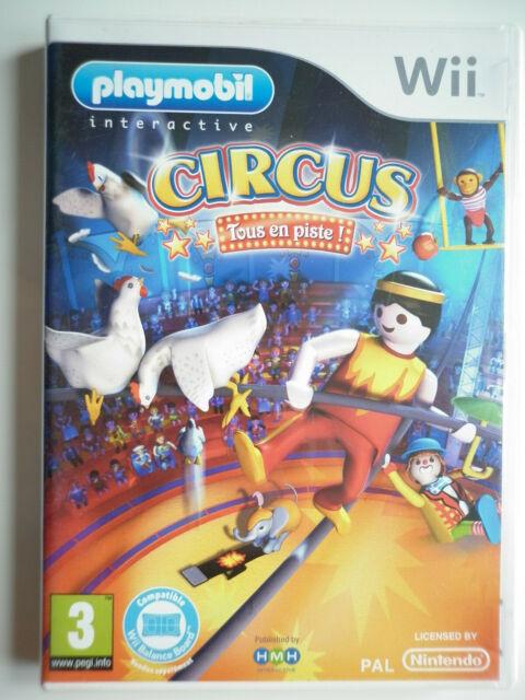 Playmobil Circus Jeu Vidéo Nintendo Wii