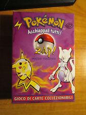 Italian COMPLETE Pokemon ZAP! Card THEME DECK Mazzo Tematico Base Set Mewtwo TCG
