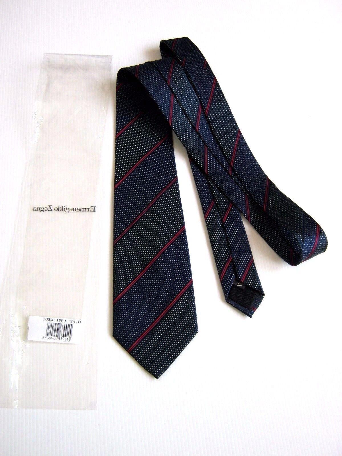Luxury ERMENEGILDO ZEGNA NUOVA NEW Seta Silk  ORIGINALE