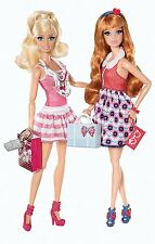 Barbie et Midge doll Mattel, Dreamhouse, Dream House en boite