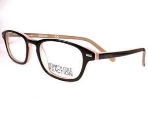 da8f1a759aa Kenneth Cole Reaction Eyeglass KC 732 Black 003 Women Frames New 48 ...
