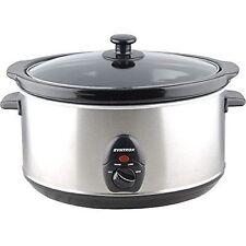 4,5 Liter Edelstahl Slow Cooker mit Warmhaltefunktion