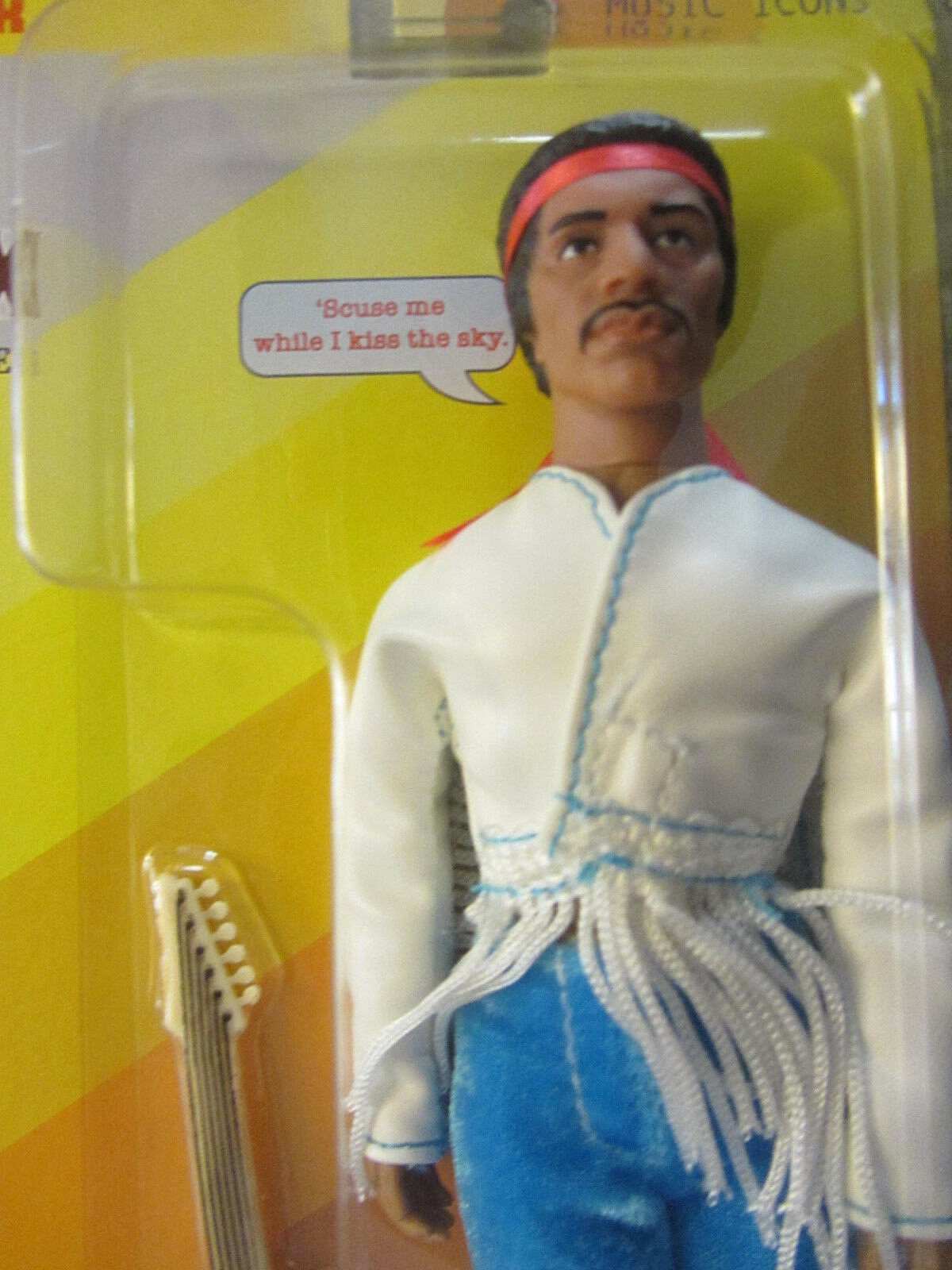 2018 mego jimi - hendrix edition - limited - edition hendrix - action - figur auf   10.000... 707d9f