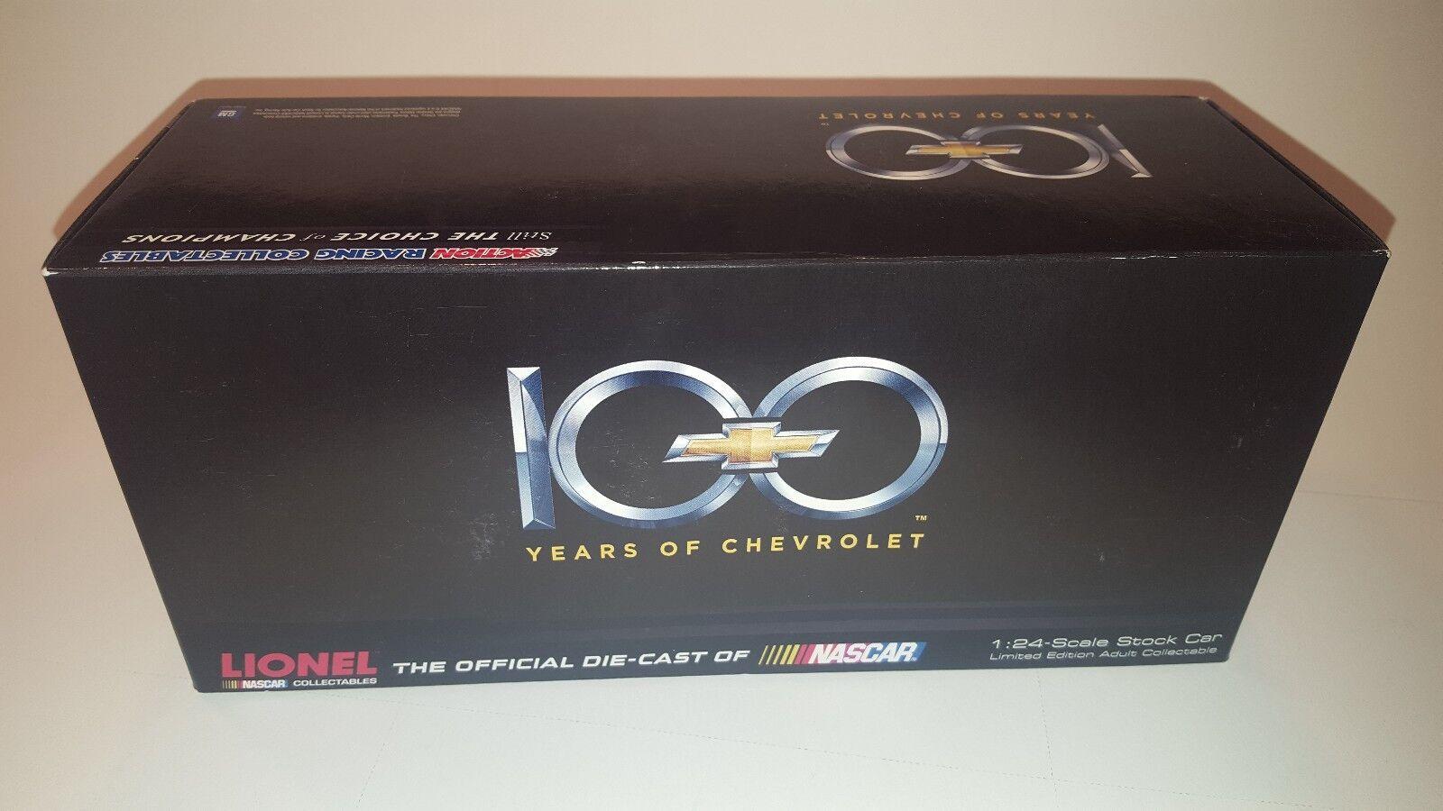 Nuevo En Caja NasCoche Diecast Escala 1 24, Auto Coleccionable Chevrolet 100 aniversario