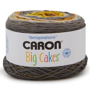 Caron-Big-Cakes-100-Acrylic-Worsted-Striping-Yarn-Medium-4-Cake-Knit-Crochet