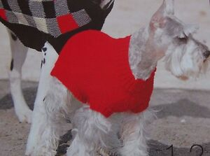 Knitting Pattern For Medium Sized Dog : DOG COAT KNITTING PATTERN SIZE PETITE ~SMALL~MEDIUM~LARGE~EXTRA LARGE eBay