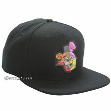 NEW Five Nights At Freddy's FNAF Character Patch Ball Cap Hat Ships in Box FREE