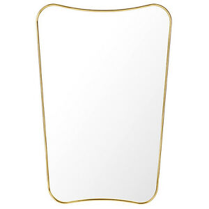 Gubi specchio da parete rettangolare f design by gio - Specchio rettangolare da parete ...