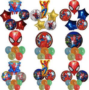 SPIDER-MAN-SUPERHERO-BALLOON-BIRTHDAY-PARTY-BAG-GIFT-CENTERPIECE-DECORATION