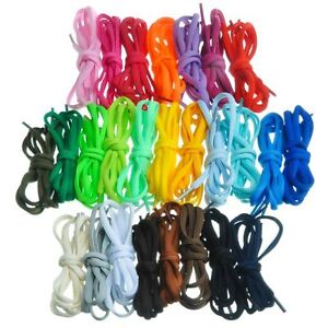 Half-round-oval-semi-round-120cm-1-2m-shoe-laces-compatible-with-Nike-19-colours