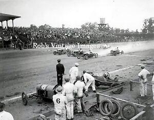 vintage dirt track stock car racing
