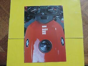 Bmw R65ls R 65 45 Ls Brochure Publicité Catalogue Catalog Prospekt 1982 DernièRe Mode