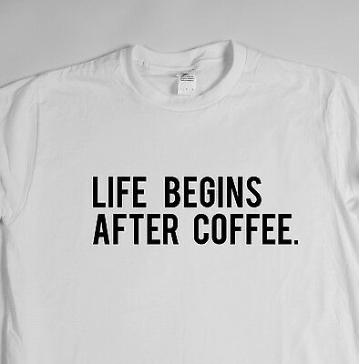 Coffee is life - t shirt tee dope hipster swag tumblr geek Funny rude humor game