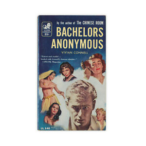 Bachelors-Anonymous-vintage-paperback-novel-by-Vivian-Connell-from-1956