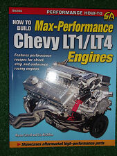 How To Build Max-Performance Chevy LT1 LT4 Engines V8 SMALL-BLOCK MODIFY MANUAL