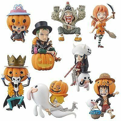 One Piece World Collectable figures HALLOWEEN SPECIAL2 all eight