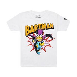The Simpsons Boys Bartman T-Shirt