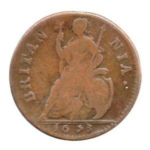 KM# 436.1 - Farthing - Charles II - England - Great Britain 1673 (Fair)