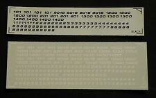 HO Penn Central PC Railroad Number Decals 2 Colors from IHP