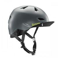 Bern Brentwood Bike Cycle Helmet Flip Visor Satin Grey S-m L-xl Xxl-xxxl