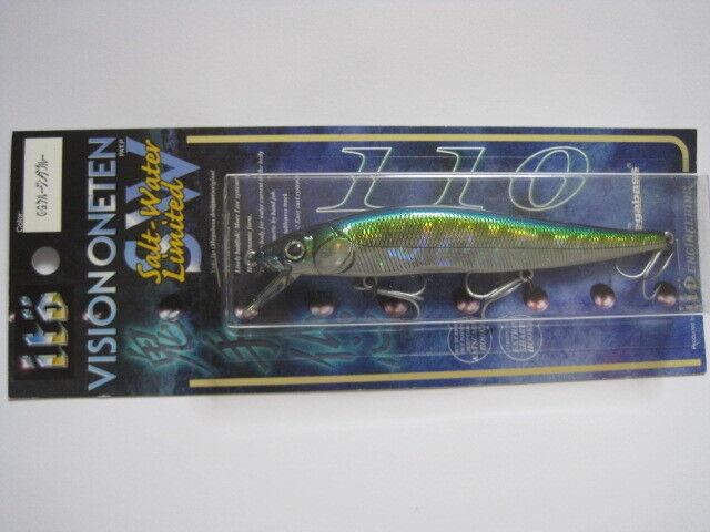 Megabass ITO VISION ONE TEN 110 SW GG CRUISING blu Coloreee 2001 NIP Straight eye