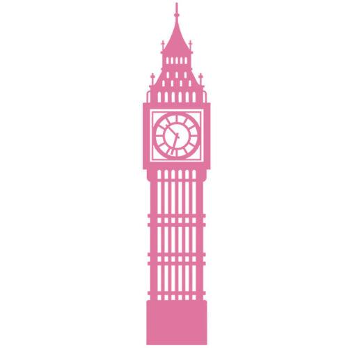 """Sticker Décoration /""""Big Ben/"""" Londres Angleterre, 30x6 cm à 150x30 cm"""