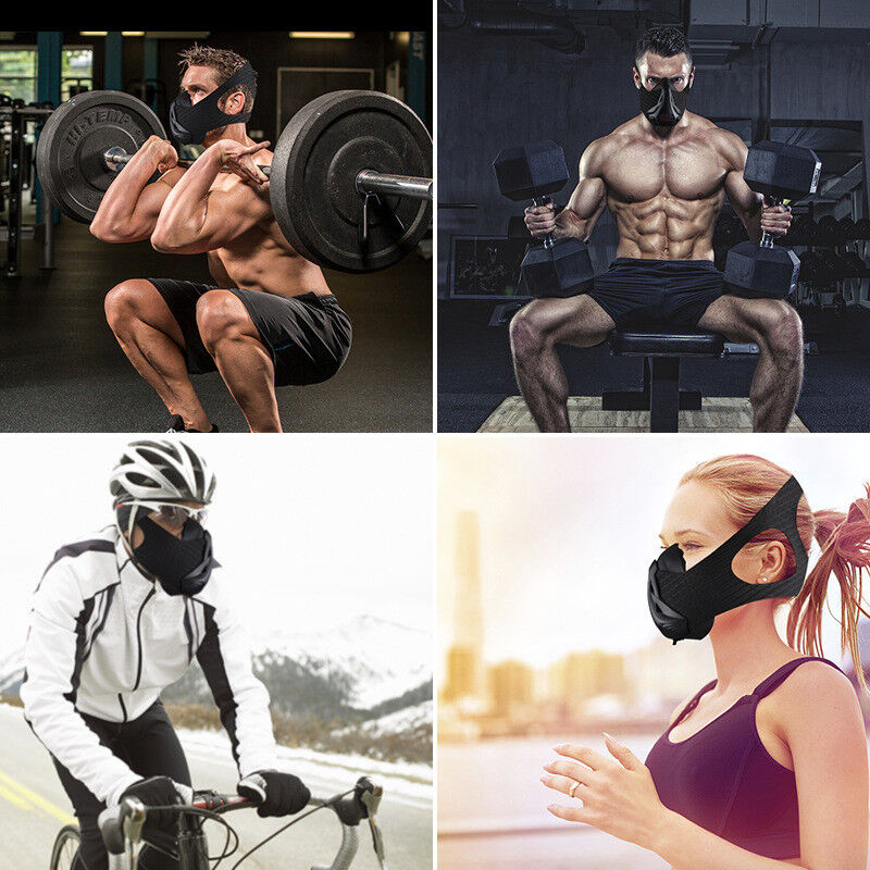 AGEKUSL Sport Workout Training Mask Cycling Face  Mask Bike Bicycle Running Train  here has the latest