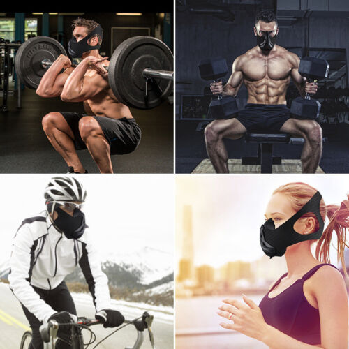 AGEKUSL Sport Workout Training Mask Cycling Face Mask Bike Bicycle Running Train